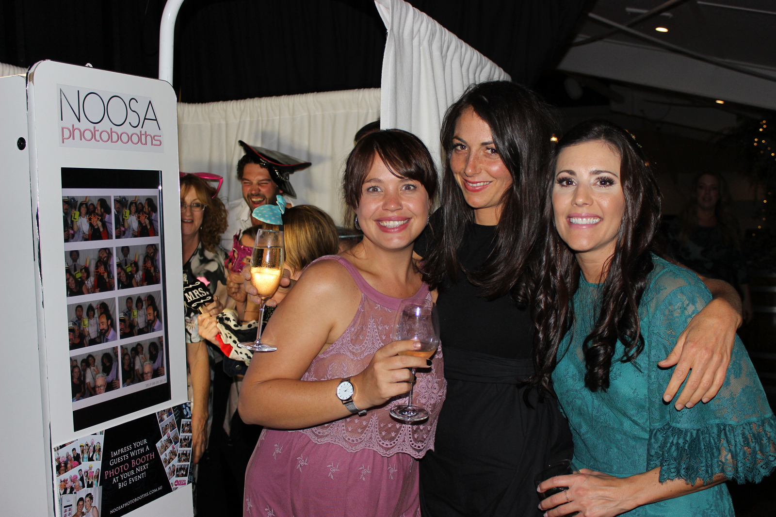 ladies at booth 2